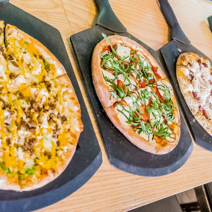 4 artisan pizzas from NeoPizza